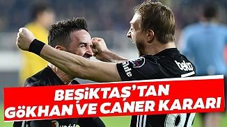 Beşiktaş'ta 3 isim ile devam kararı