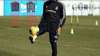 Beşiktaş'ta idmanların yıldızı Boateng