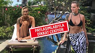 Didem Soydan cesur pozuyla sosyal medyayı salladı