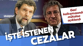 Gezi Davası'nda esas hakkındaki görüş açıklandı! Osman Kavala'ya ağırlaştırılmış müebbeti istendi