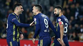 İlk yarı finalist Fenerbahçe