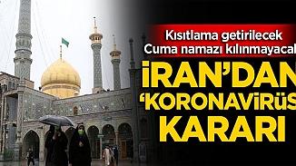 İran'da tüm Cuma namazları iptal edildiı
