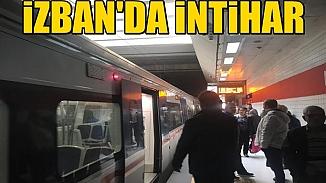 İzmir'de İzban istasyonunda intihar girişimi