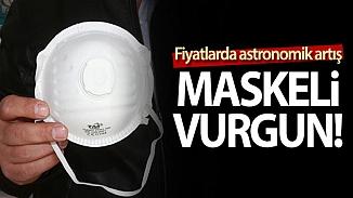 Koronavirüsü maske fiyatlarını yükseltti! Rekor rakamlara satılıyor