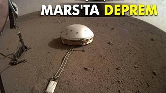 Mars, beşik gibi sallanıyor! NASA'nın sismik inceleme aracı tüm depremleri kaydetti