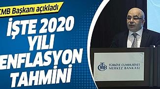 Merkez Bankası Başkanından 2020 yıl sonu enflasyon tahmini