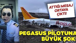 Pistten çıkarak kaza yapan Pegasus uçağının pilotunun beyninde tümör çıktı