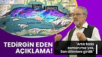 Prof. Dr. Naci Görür'den İstanbul depremi uyarısı; Zamanımız yok!