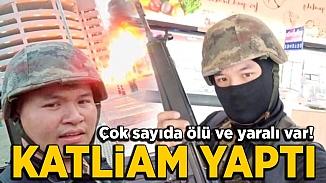 Tayland'lı asker AVM'de ateş açarak katliam yaptı! Çok sayıda ölü var