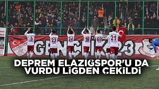 TFF kabul etti! Deprem gerekçesiyle Elazığspor resmen ligden ayrıldı