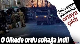 ABD'de korona vakaları alarm veriyor! Ordu sokağa indi
