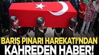 Acı haber! Barış Pınarı bölgesinde 1 asker şehit oldu