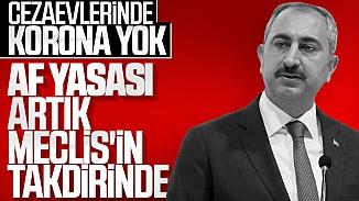 Adalet Bakanı Gül'den cezaevlerinde virüs tahliyesine yanıt