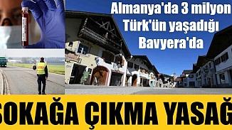 Almanya'nın Bavyera eyaleti sokağa çıkma yasağı kararı aldı