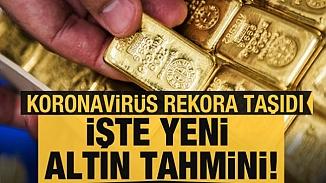Altından yeni rekor! Korona-virüs altını baskılamaya devam ediyor