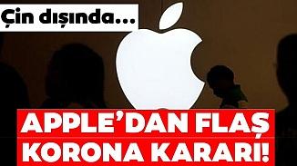Apple'dan koronavirüs kararı! Mağazalar süresiz olarak kapatıldı