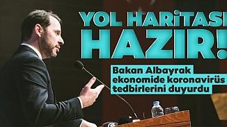 Bakan Albayrak'tan ekonomide Kovid-19 önlemleri!