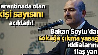 Bakan Soylu'dan sokağa çıkma yasağı ilan edileceği iddialarına yanıt