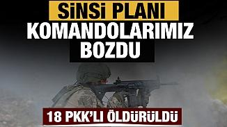 Barış Pınarı bölgesine sızma girişimine TSK engeli! 18 PKK'lı öldürüldü