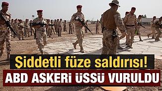 Başkent Bağdat'ta, ABD'li askerlere füzeli saldırı!