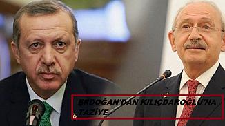 Cumhurbaşkanı Erdoğan'dan CHP liderine taziye telefonu