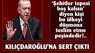 Cumhurbaşkanı Erdoğan, 'Şehitler Tepesi' polemiğine sert mesajlarla yanıt verdi