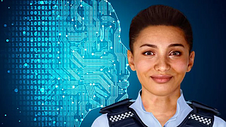 Dünya'nın ilk yapay zeka polisi Ella görevinin başına geçti