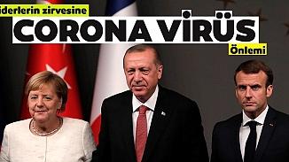 Erdoğan'ın başkanlığındaki liderler zirvesi telekonferansla yapılacak