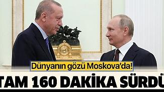 Erdoğan ve Putin görüşmesi sona erdi! Görüşmeden ilk açıklamalar