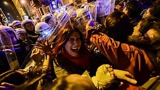 Feminist Gece Yürüyüşünde gözaltına alınan 34 kadın serbest bırakıldı