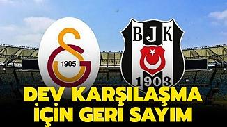 Galatasaray-Beşiktaş derbi maçının tarihi belirlendi