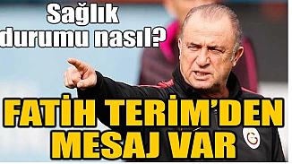 Galatasaray'ın hocası Fatih Terim'den yeni mesaj!
