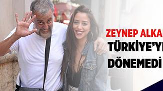 Hamdi Alkan'ın kızı Zeynep Amsterdam'dan çıkamadı!