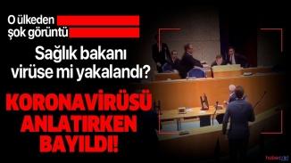 Hollanda sağlık bakanı korona virüs toplantısında dayanamadı baygınlık geçirdi !