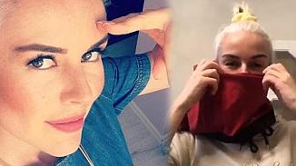 İpek Tanrıyar'dan koronavirüs çözümü: Erkek iç çamaşırından maske!