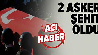 Irak'taki Haftanin bölgesinden acı haber! 2 Asker şehit edildi, 2 Asker yaralı