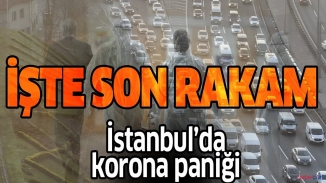 İstanbul'da Korona-virüs paniği trafiğe yansıdı! Toplu taşıma kullanılmıyor trafik kilit