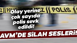 İzmir'de korku dolu anlar! Bornova'da eli silahlı bir kişi AVM'de kurşun savurdu