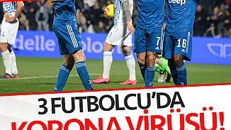 Juventus'lu 3 futbolcuda Koronavirüs salgınından karantinaya alındı