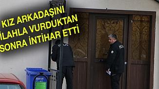 Kayseri'de dehşet anları! Önce sevgilisini vurdu, sonra kendini