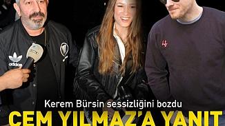 Kerem Bürsin'den Cem Yılmaz'a tatlı sert cevap