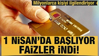 Kredi kartı sahipleri dikkat! Azami ve gecikme faiz oranları düşürüldü
