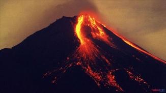 Merapi yanardağın da patlama! Merapi yanardağı nerededir ? Merapi yanardağ en son ne zaman patladı ?
