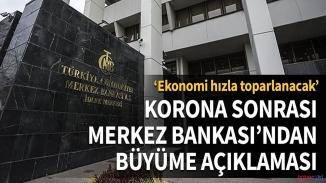 Merkez bankasından mesaj! Ekonomi ne zaman toparlanır ?