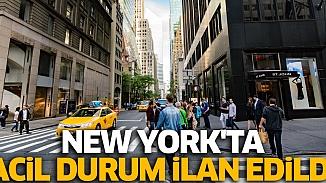 New York, Korona virüsü için acil durum ilan etti