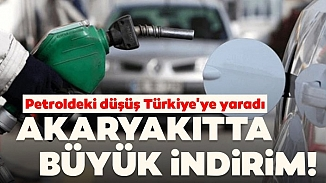 Petrol fiyatlarındaki düşüş benzini de vurdu; Büyük indirim geliyor!