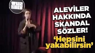 Pınar Fidan'ın stand-up gösterisinde ofansif mizahı alevileri kızdırdı