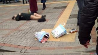 Rize'de kadına şiddet! Eski eşini sokak ortasında başından vurarak ağır yaraladı