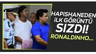 Ronaldinho'nun cezaevinde ilk fotoğrafı!