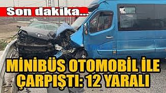 Sancaktepe'de kayganlaşan yol kazaya neden oldu; Çok sayıda yaralı var
